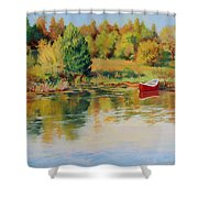 Bright Spring Afternoon Shower Curtain