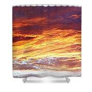 Bright Summer Sky Shower Curtain