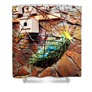 Bright Wings Shower Curtain