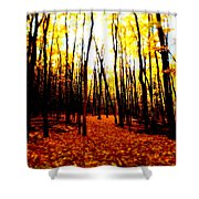 Bright Woods Shower Curtain