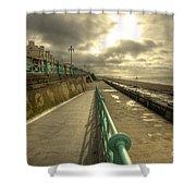 Brighton Promenade Shower Curtain