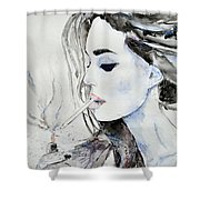 Brigitte Bardot Shower Curtain