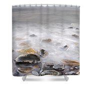 Brigtness At Sunset Shower Curtain