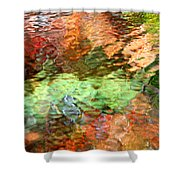 Brilliance Shower Curtain by Christina Rollo