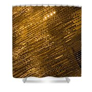 Brilliant Gold And Gems And Jewels Shower Curtain