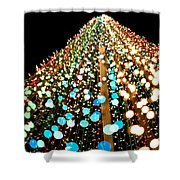 Brilliant Lights Shower Curtain