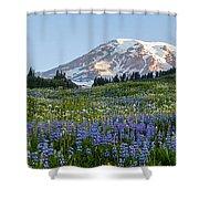 Brilliant Meadow Shower Curtain