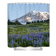 Brilliant Meadow Shower Curtain
