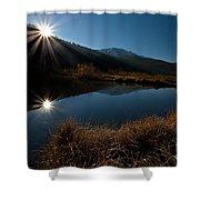 Brilliant Sunrise Shower Curtain