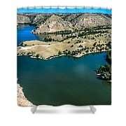 Brimmer Point Of Guernsey State Park Shower Curtain