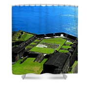 Brimstone Fortress St Kitts Shower Curtain