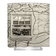 Bring On Spring Sepia Shower Curtain