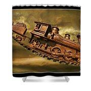 Bringhurst Special Train Shower Curtain