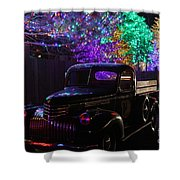Bringing Home The Tree Shower Curtain