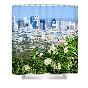 Brisbane Cbd Shower Curtain