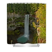Brisith Columbia Rainforest Plunge Shower Curtain