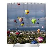 Bristol Balloon Fiesta Bristol Shower Curtain