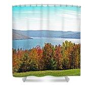 Bristol Harbour View Shower Curtain