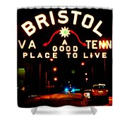 Bristol Shower Curtain by Karen Wiles