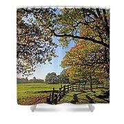 British Autumn Shower Curtain