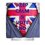 British Businessman Votes No Shower Curtain