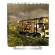 British Cargo Shower Curtain