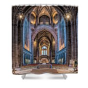 British Cathedral Shower Curtain by Adrian Evans