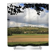 British Countryside Sussex Uk Shower Curtain
