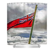British Merchant Navy Flag Shower Curtain