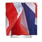 British Pride Shower Curtain