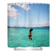 British Virgin Islands, Caribbean Shower Curtain