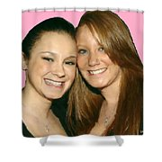 Brittany And Nicole Nutting Shower Curtain