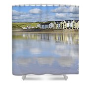 Broad Haven Clouds Shower Curtain