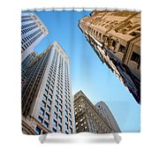 Broad Street Canyon Shower Curtain