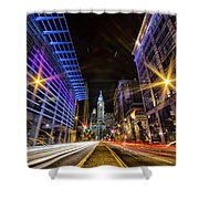 Broad Street North Shower Curtain