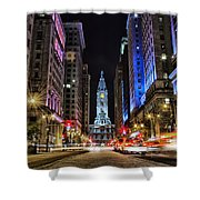 Broad Street South Shower Curtain
