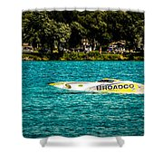 Broadco Property Shower Curtain