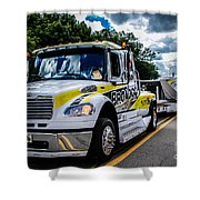 Broadco Semi Shower Curtain