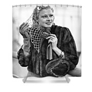 Broadway Actress Claire Luce Shower Curtain