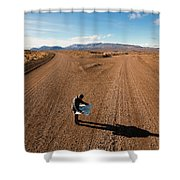 Brody Leven, Patagonia, Chile Shower Curtain