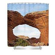 Broken Arch Shower Curtain