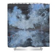 Broken But Coming Home Shower Curtain