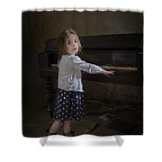 Broken Hearted Melody Shower Curtain