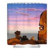 Broken Hill 1 Shower Curtain