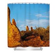 Broken Hill 2 Shower Curtain