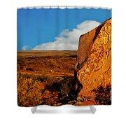 Broken Hill 4 Shower Curtain