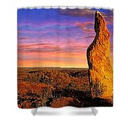 Broken Hill 5 Shower Curtain