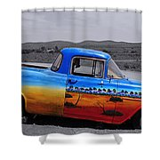 Broken Hill 9 Shower Curtain
