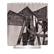Broken Mill Shower Curtain