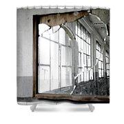 Broken Mirror Shower Curtain